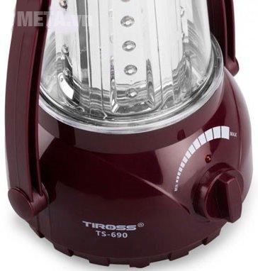 Đèn pin sạc điện đa năng Tiross TS-690-1 có đèn LED dễ dàng sử dụng