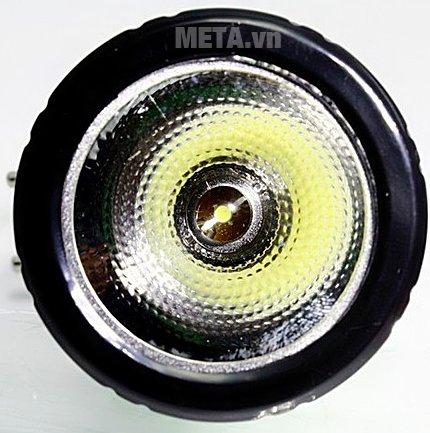 Đèn pin sạc điện Tiross TS-1124 với 1 bóng đèn