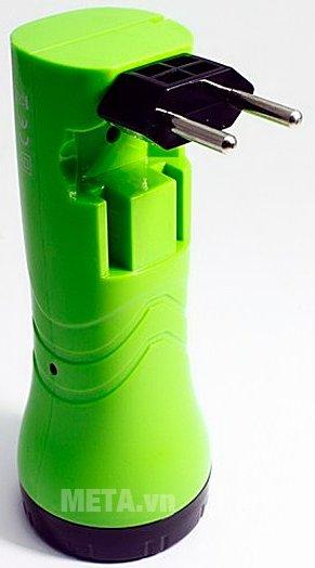 Đèn pin sạc điện Tiross TS-1124 có thể sạc trực tiếp