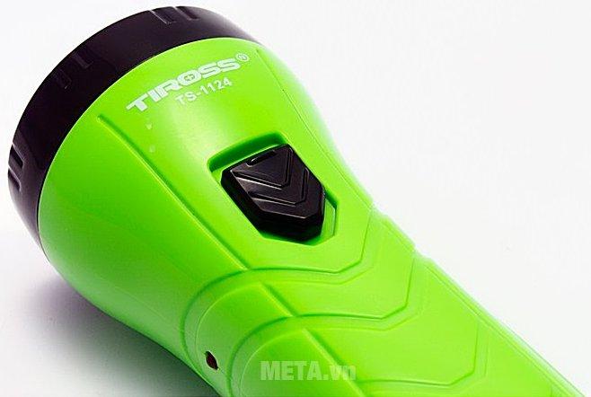 Đèn pin sạc điện Tiross TS-1124 dễ dàng sử dụng