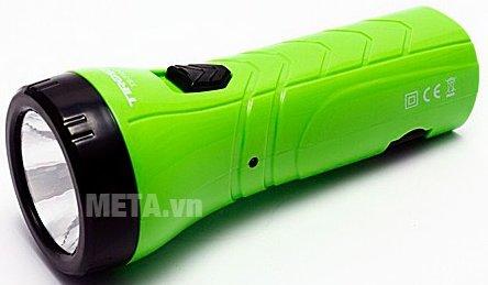 Đèn pin sạc điện Tiross TS-1124 có thiết kế nhỏ gọn