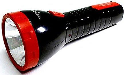 Đèn pin sạc điện Tiross TS-1125 có thiết kế nhỏ gọn