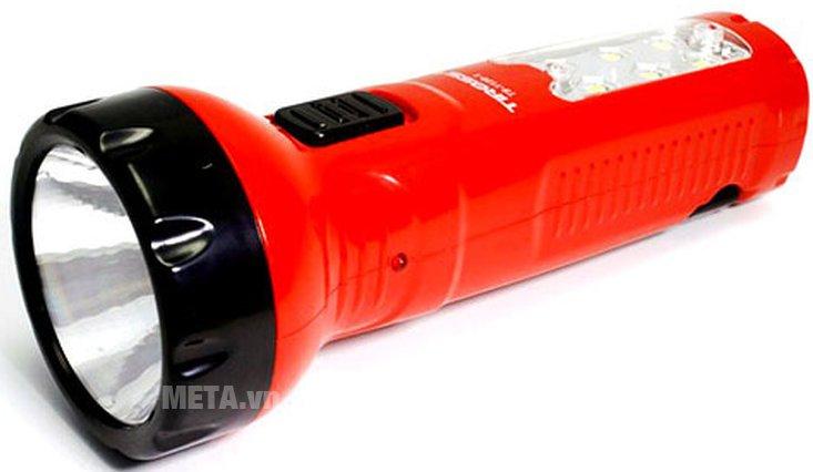 Đèn pin sạc điện Tiross TS-1128-1 có thiết kế nhỏ gọn