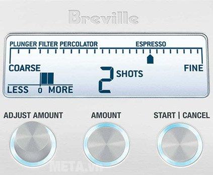 Máy xay cà phê Breville Smart Grinder 820 có thể điều chỉnh dễ dàng