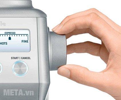 Máy xay cà phê Breville Smart Grinder 820 có thể điều chỉnh dung lượng xay cà phê