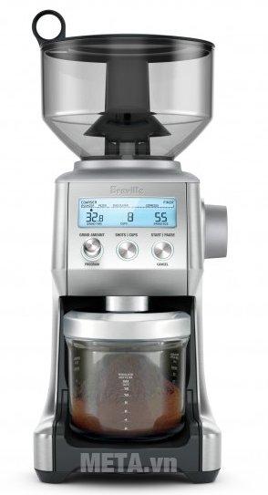 Máy xay cà phê Breville Smart Grinder 820 có thiết kế tiện lợi