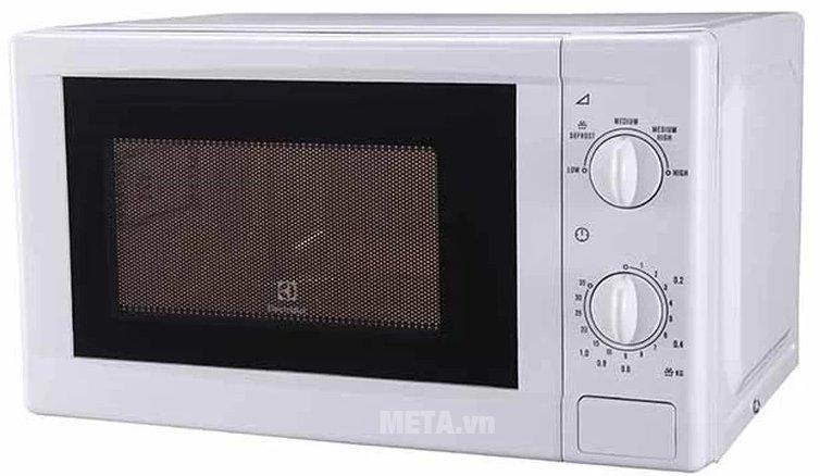 Lò vi sóng cơ Electrolux EMM2021MW có thiết kế tiện lợi
