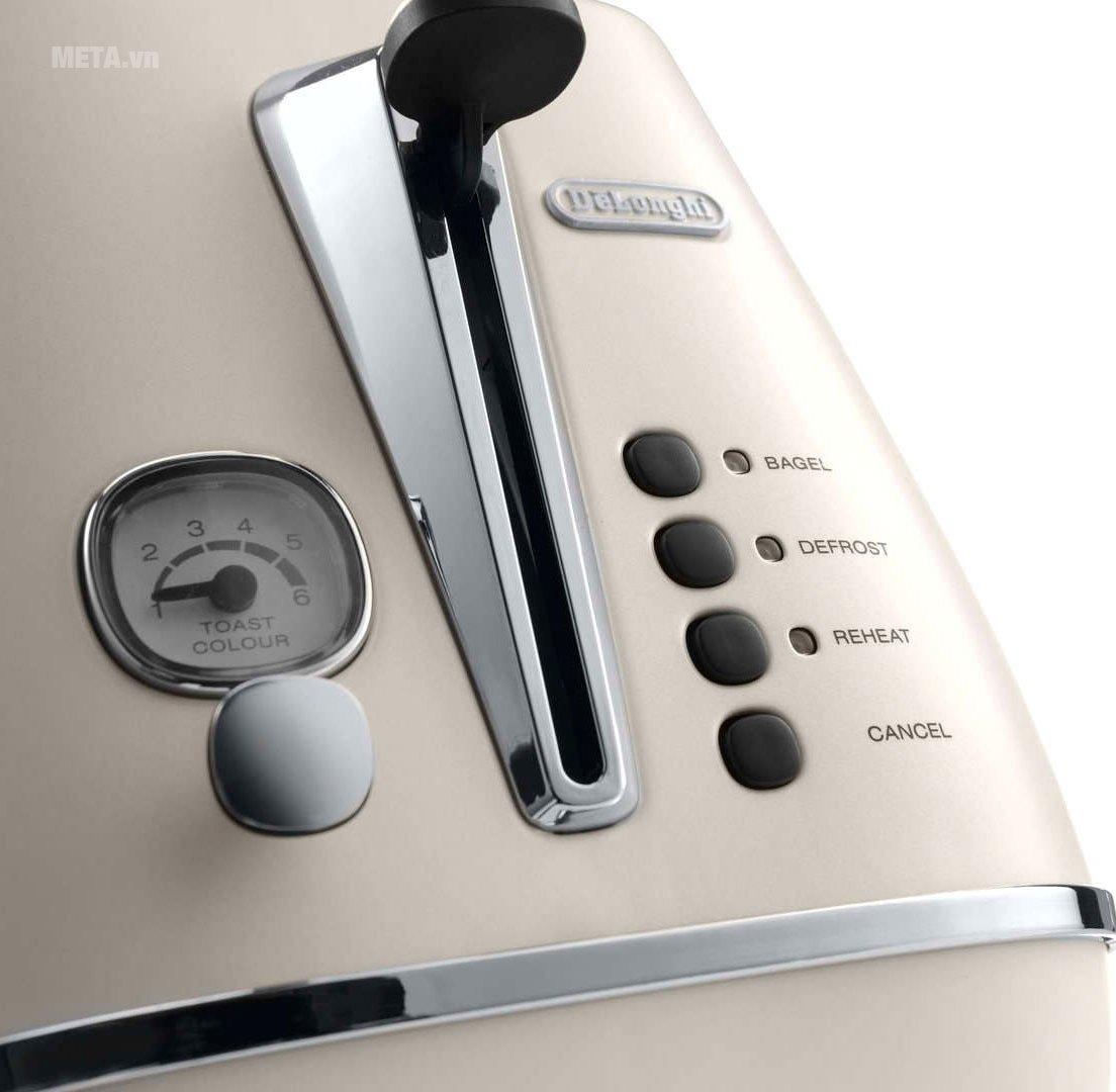 Máy nướng bánh mì Distina CTI 2103.W dễ dàng sử dụng
