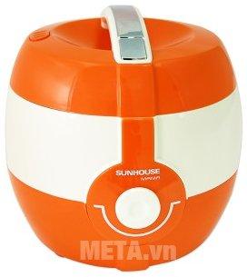 Nồi cơm điện 1 lít Sunhouse MAMA SHD8220WO có thiết kế tiện lợi