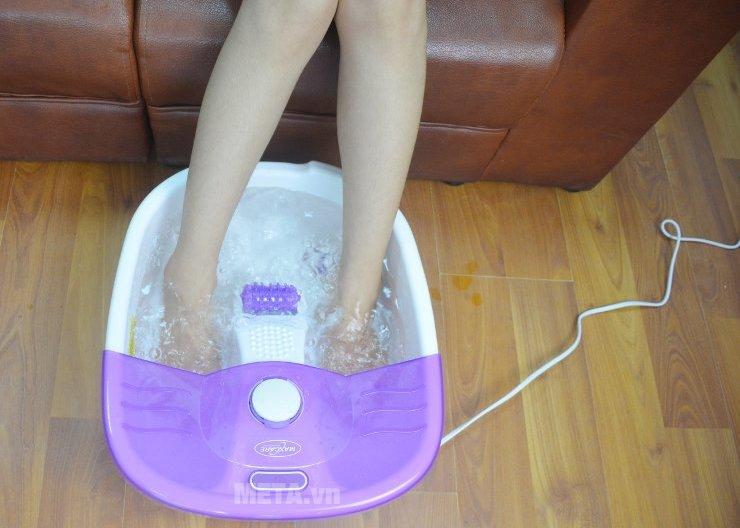 Bồn ngâm massage chân Max-641C giúp thư giãn thoải mái