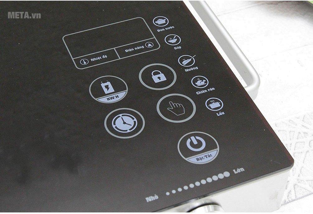 Bếp hồng ngoại cảm ứng Sunhouse SHD6017 dễ dàng sử dụng