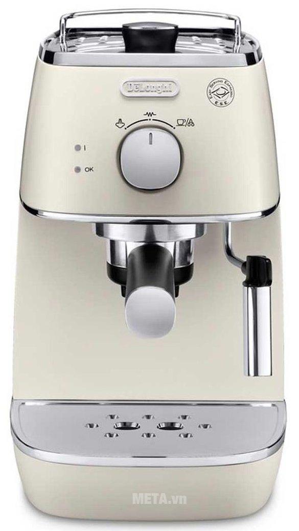 Máy pha cà phê Delonghi Distina ECI 341.W có thiết kế tiện lợi
