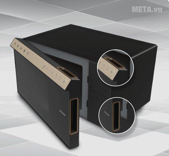 Lò vi sóng điện tử Sharp R-29D2-VN tiện lợi khi sử dụng