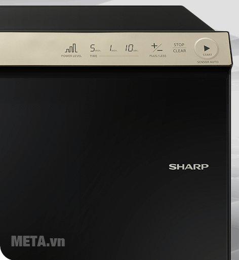 Lò vi sóng điện tử Sharp R-29D2-VN với bảng điều khiển tiện lợi