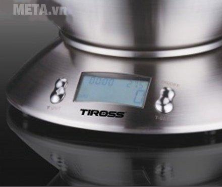 Cân nhà bếp cao cấp điện tử Tiross TS-817 có màn hình hiển thị LCD