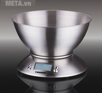 Hình ảnh cân nhà bếp cao cấp điện tử Tiross TS-817