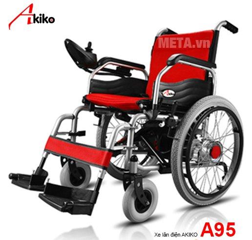 Xe lăn điện A95 Akiko dành cho người già, người khuyết tật