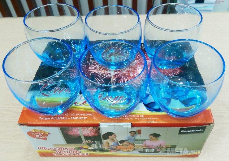 Bộ 6 ly thủy tinh Turkey Glass có chất liệu cao cấp