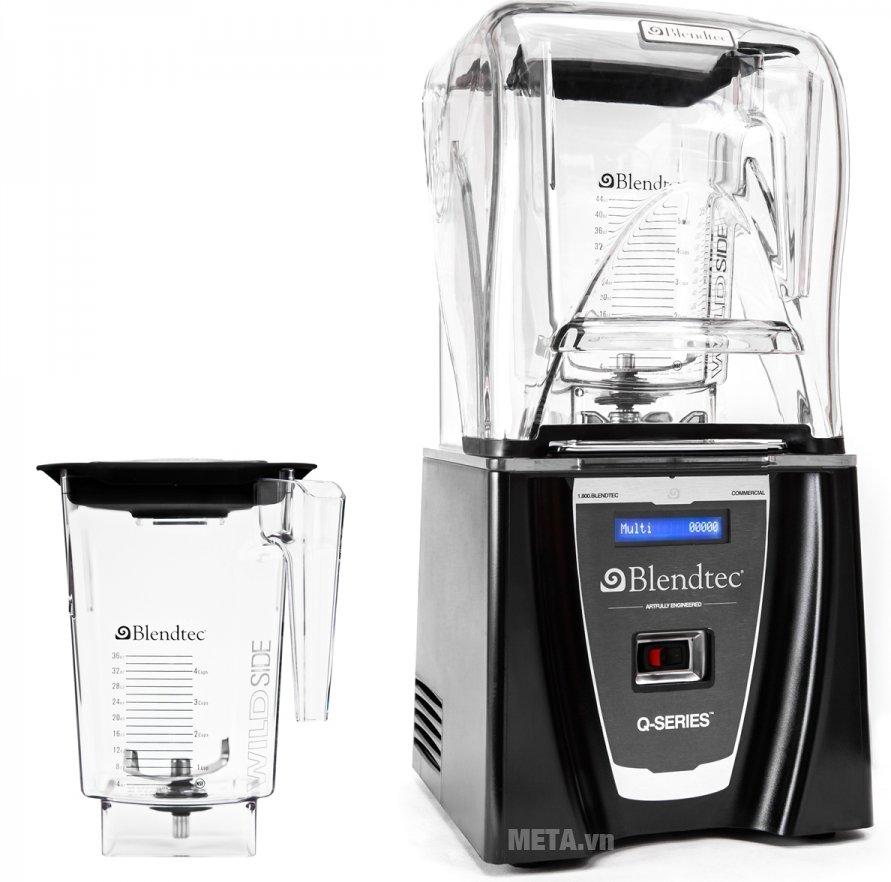 Máy xay sinh tố công nghiệp Blendtec Q-series có thiết kế cao cấp