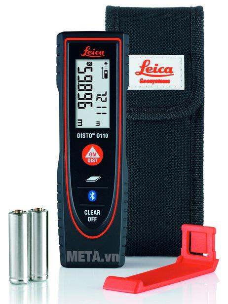 Máy đo khoảng cách laser Leica DISTOTM D110 có thiết kế nhỏ gọn