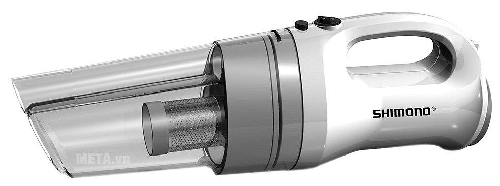 Máy hút bụi Shimono SVC 1015 hoạt động với công suất mạnh mẽ