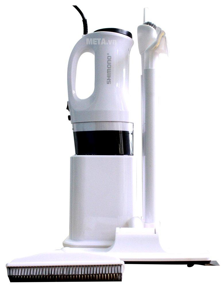 Máy hút bụi Shimono SVC 1015 có thể tháo rời giúp vệ sinh sau khi sử dụng