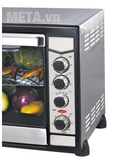 Lò nướng Sanaky VH 909S dễ dàng sử dụng