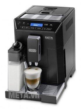 Máy pha cà phê tự động Delonghi ECAM44.660.B giúp pha nhiều đồ uống tiện lợi