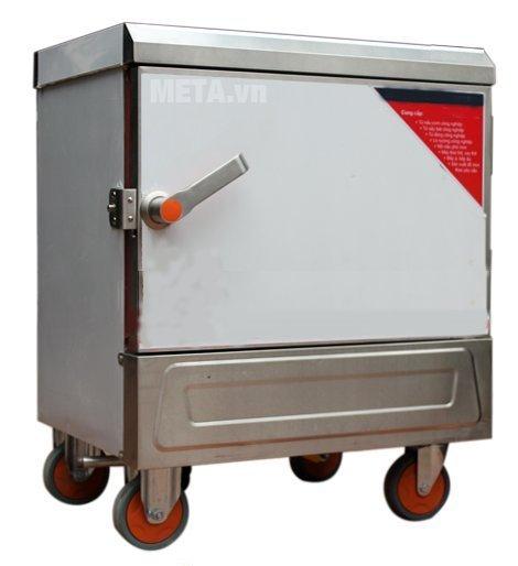 Tủ nấu cơm công nghiệp 4 khay dùng điện TCD-4 có thiết kế tiện lợi