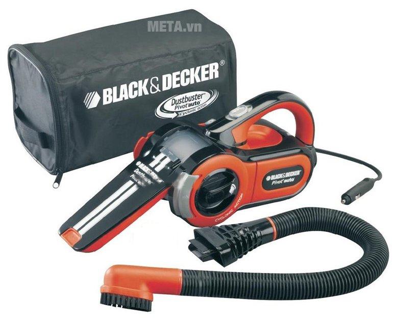 Máy hút bụi xe hơi Black Decker PAV1205 dễ dàng mang theo khi sử dụng