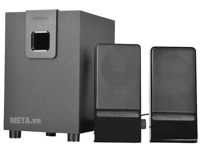 Loa Microlab M100 - 2.1 gồm 3 loa