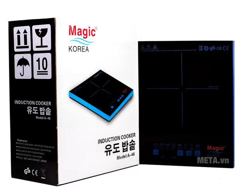 Bếp điện từ Magic A46 có công suất hoạt động mạnh mẽ