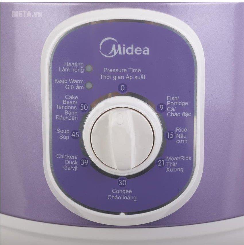 Nồi áp suất Midea MY12CH501C dễ sử dụng