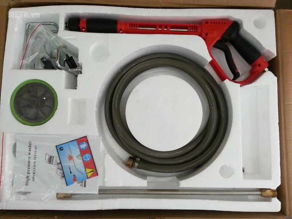 Máy phun rửa áp lực cao Lutian 18M22-3T4 với các phụ kiện