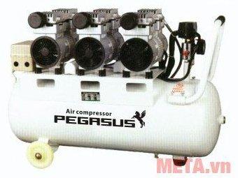 Máy nén khí không dầu giảm âm TM-OF750x3-70L
