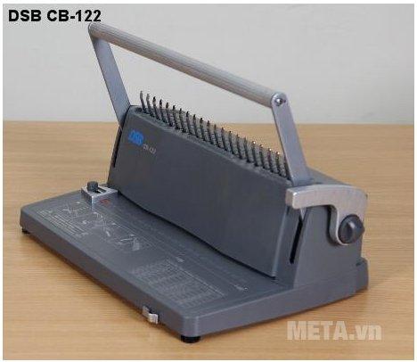 Máy đóng sách gáy xoắn nhựa DSB CB-122 có thiết kế tiện lợi