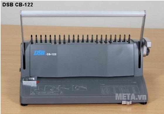 Máy đóng sách gáy xoắn nhựa DSB CB-122 giúp sổ sách gọn gàng hơn