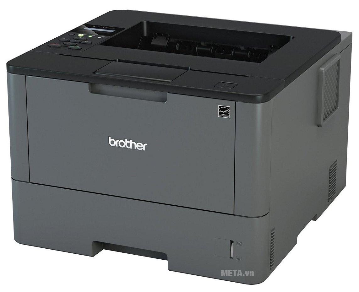 Máy in Brother HL-L5100DN có thiết kế tiện lợi