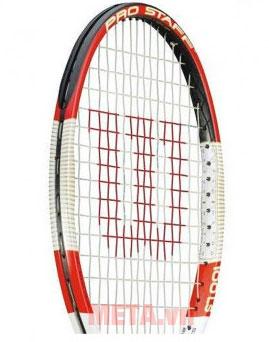 Phần lưới vợt đã đan dây