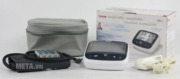 Máy đo huyết áp bắp tay Beurer BM40 với các phụ kiện