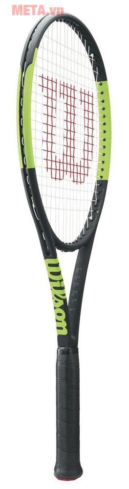 Vợt tennis Wilson Blade 98L 16x19 TNS FRM 2 WRT7336102 (285g) có thiết kế tiện lợi