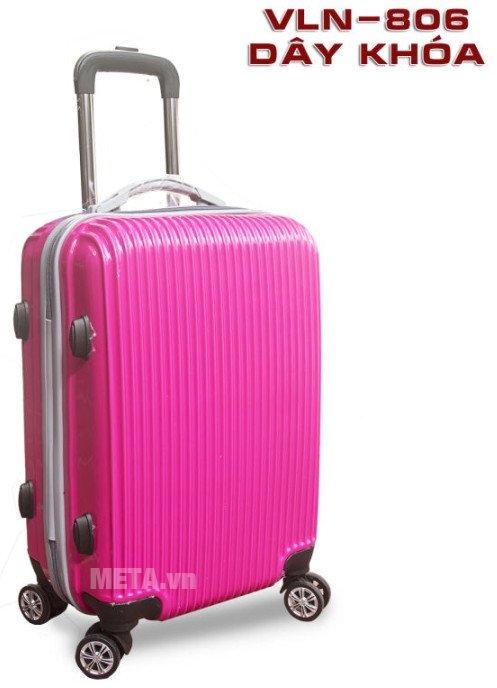 Vali nhựa VLN PC-806 20 inch màu hồng