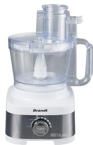 Máy xay, cắt thực phẩm đa năng Brandt ROB707BX