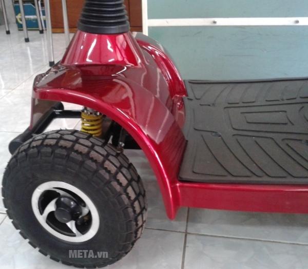 Xe lăn điện HA-3022S có bánh xe lớn
