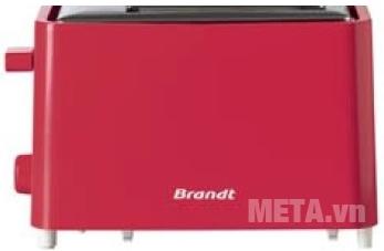 Máy nướng bánh sandwich Brandt TO756R hỗ trợ trợ đế chống trơn trượt