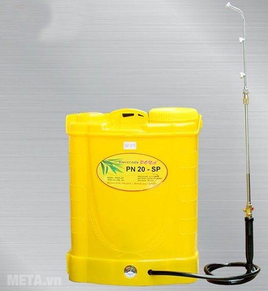 Bình xịt điện Pona PN20-SP có màu vàng sang trọng