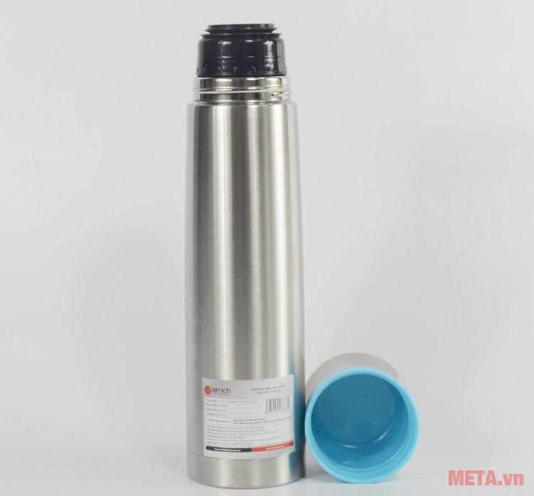 Bình giữ nhiệt Elmich K10 2246388 có thể dùng nắp làm cốc uống nước