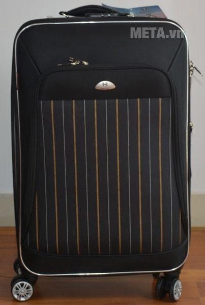 Vali 4 bánh xoay VLX011 20 inch màu đen