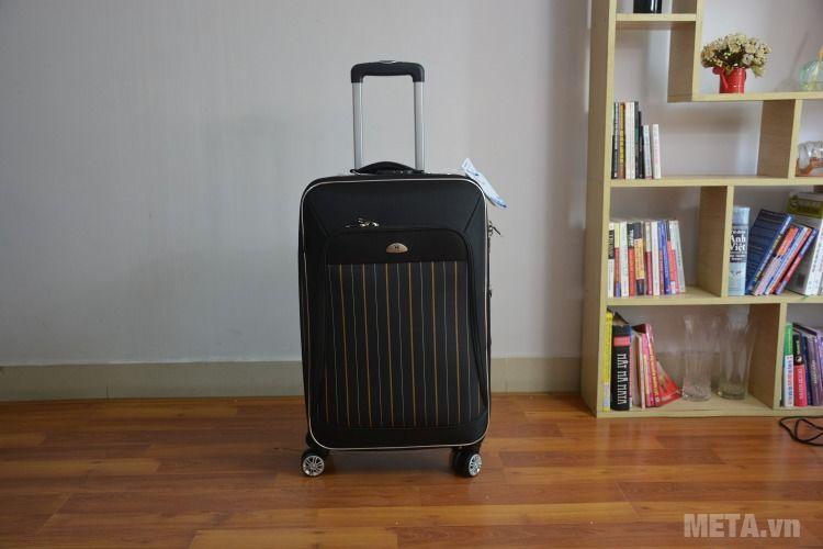 Cần kéo vali 4 bánh xoay VLX011 20 inch dễ dàng điều chỉnh độ cao