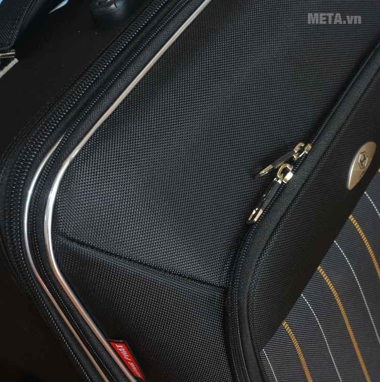 Vali 4 bánh xoay VLX011 28 inch làm bằng chất liệu vải cao cấp
